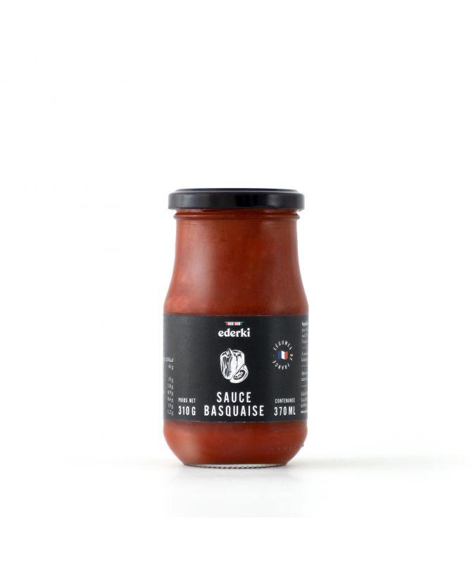 Image du pot   de 310 grammes de sauce basquaise Ederki