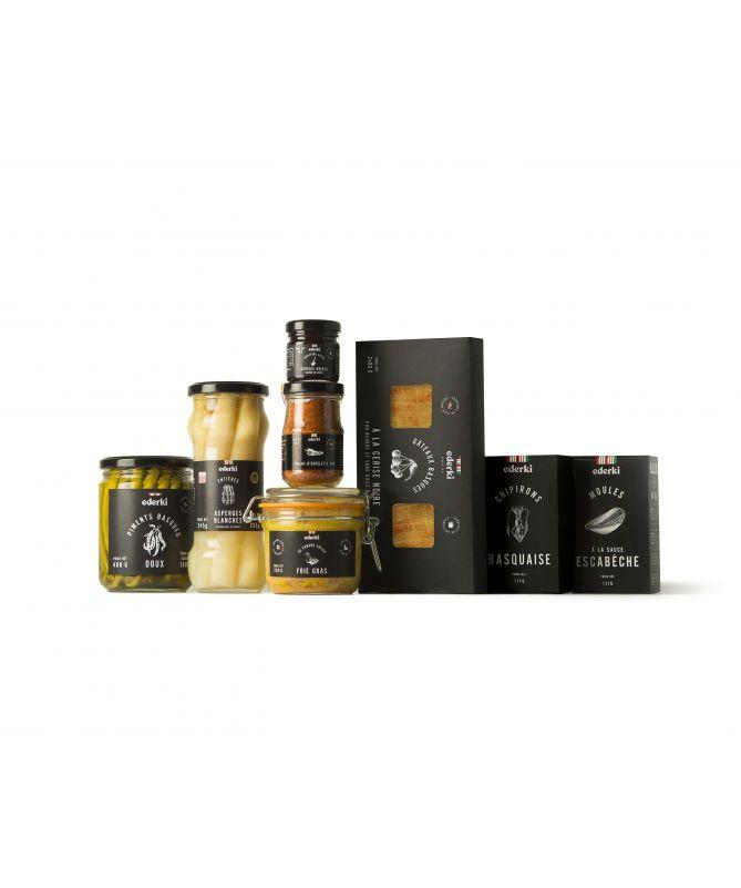 Olives farcies aux poivrons 300g