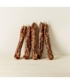 Image des saucisses sèches au Piment d'Espelette Maison Montauzer