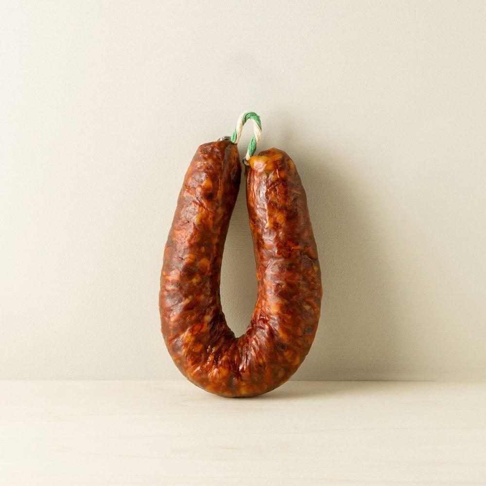 Maison Ederki. Chorizo doux fer à cheval Maison Montauzer. 220 grammes.