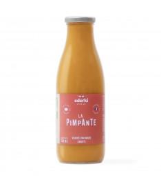Image de la bouteille de 75 centilitres de velouté bio aux carottes Ederki
