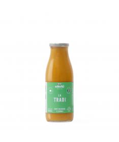 Image de la bouteille de 50 centilitres de soupe velouté bio aux 5 légumes Ederki