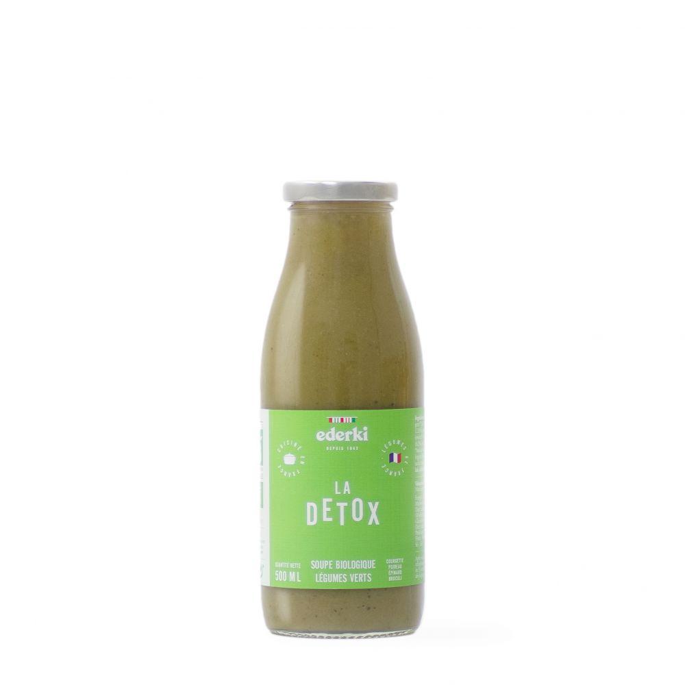 Maison Ederki. Soupe bio aux légumes verts 50 centilitres. Gamme biologique.