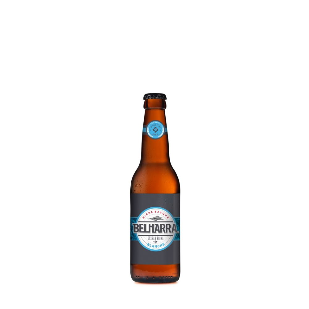 Maison Ederki. Bière Belharra blanche