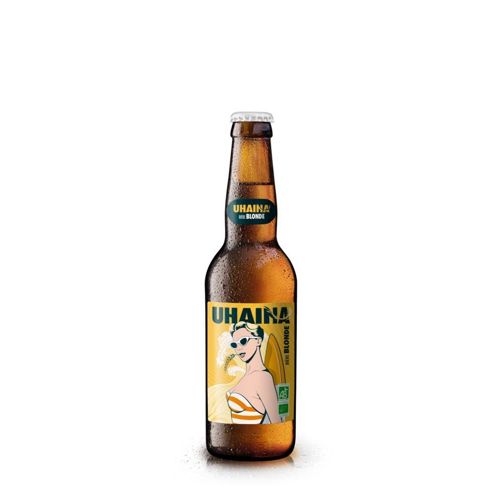 Maison Ederki. Bière Chaine blonde