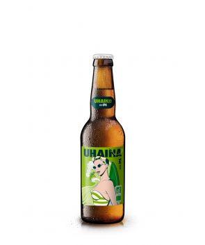 Maison Ederki. Bière Uhaine IPA (Indian Pale Ale)