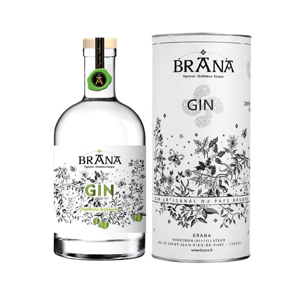 Gin au citron vert 50cl Maison Brana | Maison Ederki